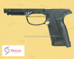Nebula Original Frame for Marui PX4 (BK/Marking)